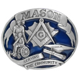 Mason 3D Enameled Belt Buckle