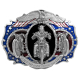 Live to Ride Oversized Belt Buckle