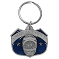 American Lawman Metal Key Chain with Enameled Details