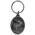 Elk Antiqued Key Chain