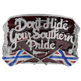 Southern Pride Enameled Belt Buckle