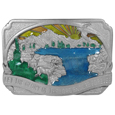 Glory of the Lord Enameled Belt Buckle