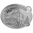Yellowstone Antiqued Belt Buckle