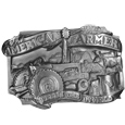 American Farmer Antiqued Belt Buckle