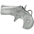 Derringer Antiqued Belt Buckle