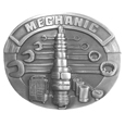 Mechanic Antiqued Belt Buckle