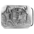 Bowhunter Antiqued Belt Buckle