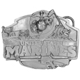 Marines Antiqued Belt Buckle