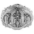 Live to Ride Antiqued Belt Buckle