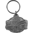 American Firefighter Antiqued Key Chain