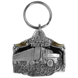 American Trucker Bound for Glory Key Chain