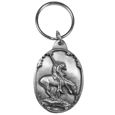End of the Trail Antiqued Keyring