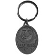 Marines Antiqued Metal Key Chain