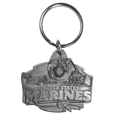 Marines Antiqued Keyring