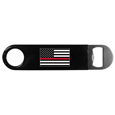 Thin Red Line Coast Guard Flag Long Neck Bottle Opener