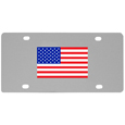 United States Flag License Plate Wall Plaque