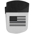 Thin Gray Line Veterans Flag Chip Clip Magnet With Bottle Opener