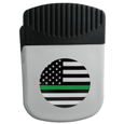 Thin Green Line Army Flag Chip Clip Magnet