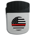 Thin Red Line Coast Guard Flag Chip Clip Magnet