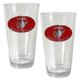 Marines Pint Glass Set