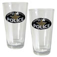 Police Pint Glass Set
