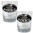 Police Rocks Glass Set