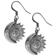 Dangle Earrings - Sun & Moon