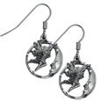 Dangle Earrings - Fairy & Moon