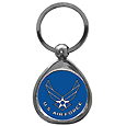 Air Force Chrome Key Chain