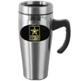 Army Steel Travel Mug