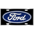 Ford License Plate