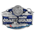 US Coast Guard Enameled Belt Buckle