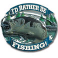 Rather Be Fishing Hitch Cover