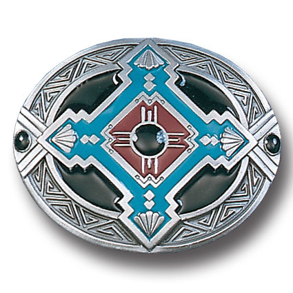 Belt Buckle - Southwest Flair