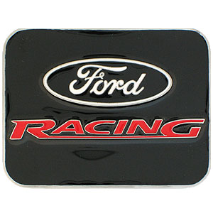 Ford Belt Buckle - Ford Racing Logo - Our  Ford Racing belt buckle is finely sculpted and hand painted in vibrant color. Siskiyou's  buckles often become collector's items.