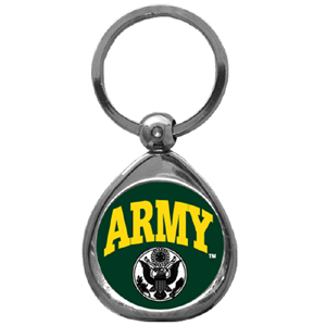 Army Chrome Key Chain - Army Chrome Key Chain