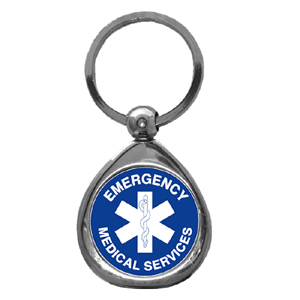 EMS Chrome Key Chain - EMS Chrome Key Chain