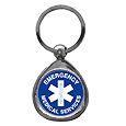 EMS Chrome Key Chain