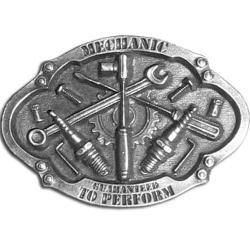 Mechanic Buckle - Finely sculpted and intricately designed belt buckle. Our unique designs often become collector's items.