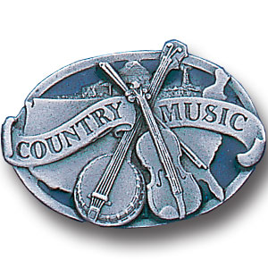 Pin - Country Music - Our fully cast and enameled country music pin features exceptional detail with a hand enameled finish.