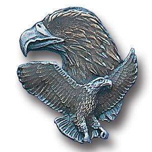 Pin - Bald Eagle - Our fully cast and enameled bald eagle pin features exceptional detail with a hand enameled finish.