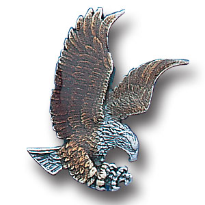 Pin - Flying Eagle - Our fully cast and enameled flying eagle pin features exceptional detail with a hand enameled finish.
