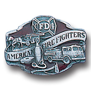 Pin - American Fire Fighter - Our fully cast and enameled american fire fighter pin features exceptional detail with a hand enameled finish.
