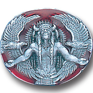 Pin - Great Spirit - Our fully cast and enameled great spirit pin features exceptional detail with a hand enameled finish.