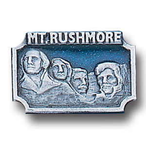 Pin - Mt. Rushmore - Our fully cast and enameled Mt. Rushmore pin features exceptional detail with a hand enameled finish.