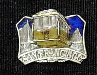 Pin - San Francisco - Our fully cast and enameled San Francisco pin features exceptional detail with a hand enameled finish.
