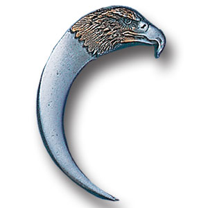 Pin - Eagle Head and Claw - Our fully cast and enameled eagle head and claw pin features exceptional detail with a hand enameled finish.