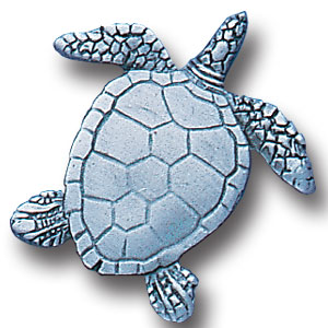 Pin - Turtle - Our fully cast and enameled turtle pin features exceptional detail with a hand enameled finish.