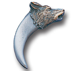 Pin - Wolf Tooth - Our fully cast and enameled wolf tooth pin features exceptional detail with a hand enameled finish.