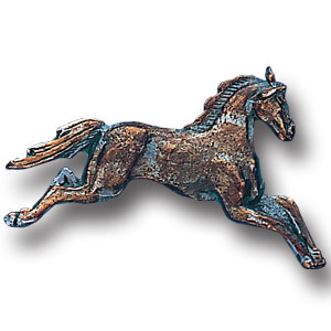 Pin - Free Form Horse - Our fully cast and enameled horse pin features exceptional detail with a hand enameled finish.